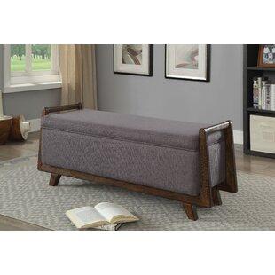 World Menagerie Creissant Upholstered Bench