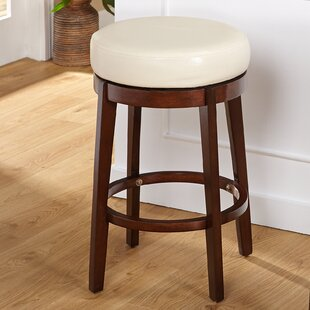 Henley 24 Swivel Bar Stool Latitude Run