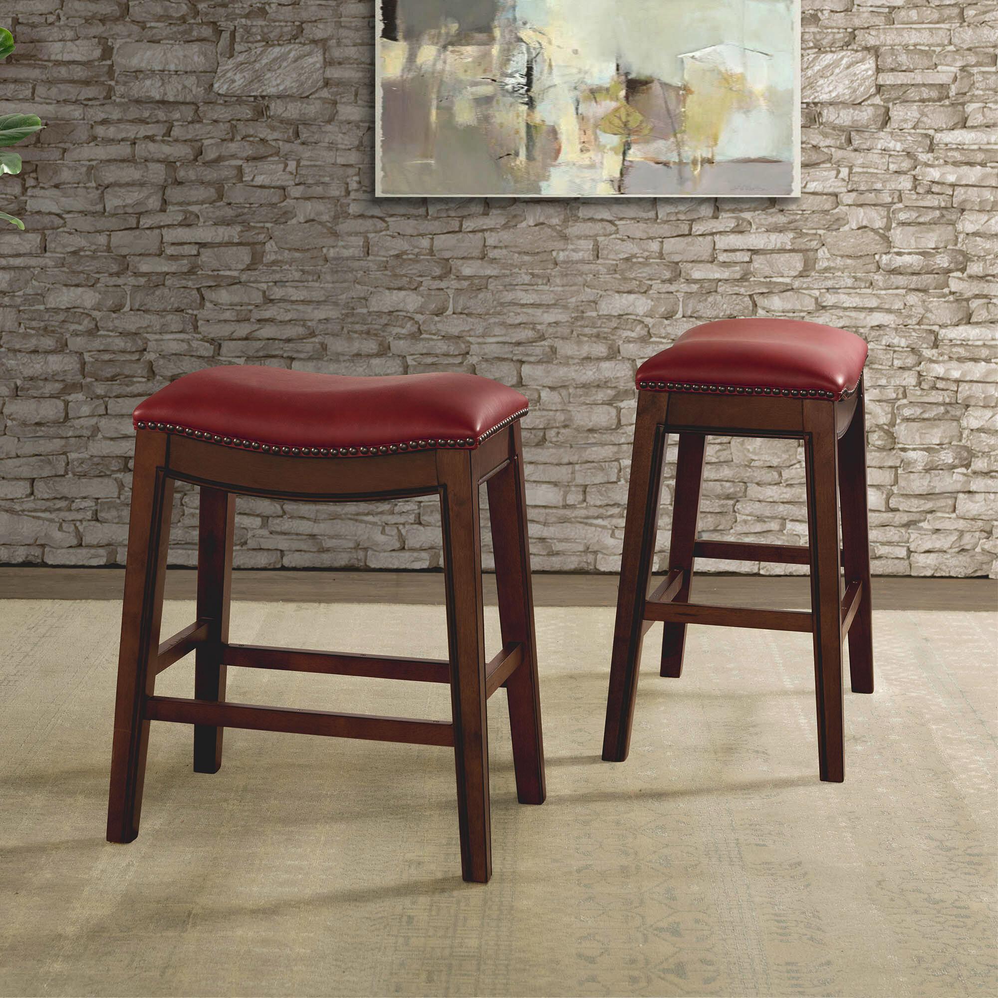 Swell Ottawa Backless 24 Bar Stool Theyellowbook Wood Chair Design Ideas Theyellowbookinfo