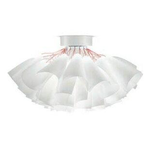 ZANEEN design Tutu 2-Light Semi Flush Mount