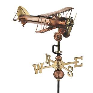 Breccia Bi Plane Weathervane Image