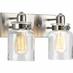 Brushed Nickel Bathroom Vanity Lighting You\'ll Love in 2019 ...