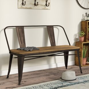 Fort Fairfield Metal Bench by Trent Austin Design