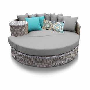 Medrano Patio Daybed with Cushions
