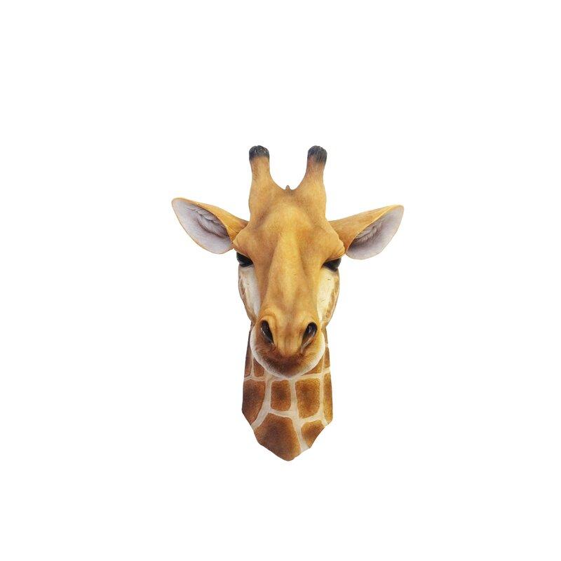 World Menagerie Giraffe Head Wall Décor Wayfair