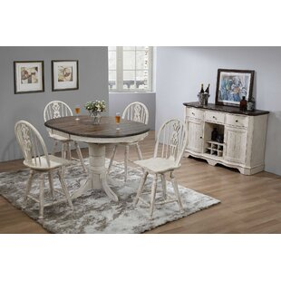 Thibaut Vintage Estates 6 Piece Extendable Dining Set