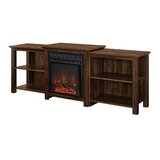 Woodbury TV Stand for TVs up to 78 with Fireplace Included by Millwood Pines