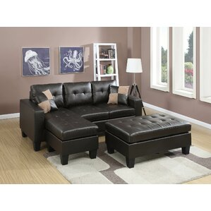 Calhoun Reversible Sleeper Sectional by Latitude Run