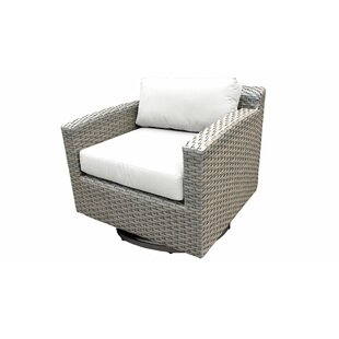 TK Classics Florence Swivel Chair with Cu..