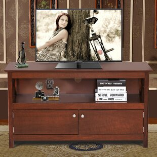 Look for Amdt Storage Media Center TV Stand for TVs up to 43 by Ebern Designs Reviews (2019) & Buyer's Guide