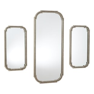 Global Views Forged Pearl Accent Mirror