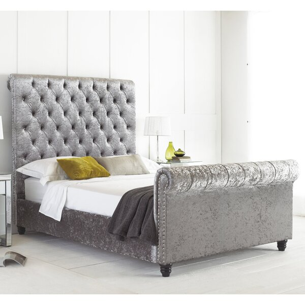 House Additions Victoria Upholstered Bed Frame & Reviews | Wayfair.co.uk