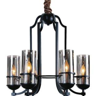 CWI Lighting Vanna 6-Light Shaded Chandel..