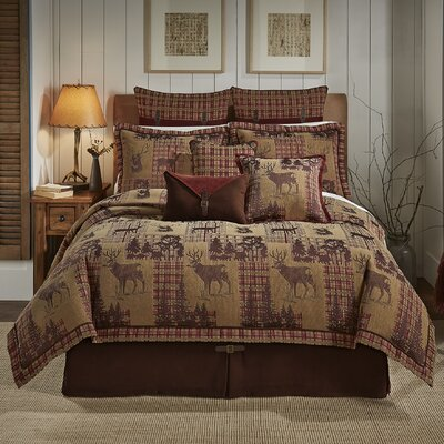 glendale 4 piece reversible comforter set by croscill home fashions