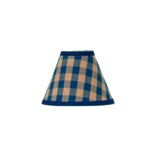 Check Cotton Empire Lamp Shade