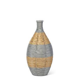 L Anfora Rattan Amphoren Lounge.Wrought Iron Vase Wayfair