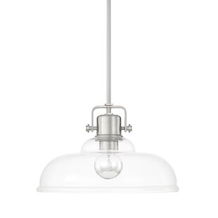 Three Posts Fuhrmann Inverted 1-Light Dome Pendant