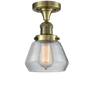 Dupree 1-Light Semi Flush Moun..