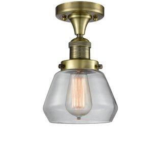 Dupree 1-Light Semi Flush Mount by Brayden Studio