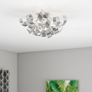 Jaelyn 4-Light Flush Mount..
