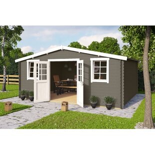 Benoit 18 X 14 Ft. Tongue & Groove Summer House By Sol 72 Outdoor