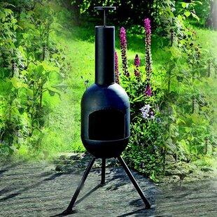 Monroy Garden Cast Iron Wood Burning Chiminea By Williston Forge