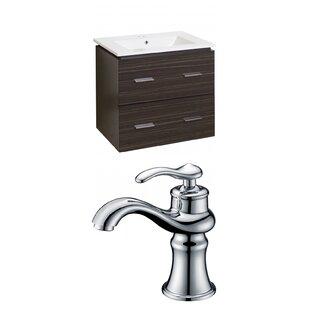 Maryalice Wall Mount 24 Wall-Mounted Single Bathroom Vanity Set