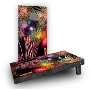 Custom Cornhole Boards Fireworks Cornhole Boards (Set of 2)