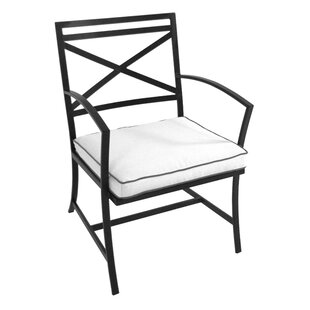 Maddux Patio Dining Chair with Cushion