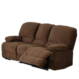Moshier Genuine Leather Reclining Sofa