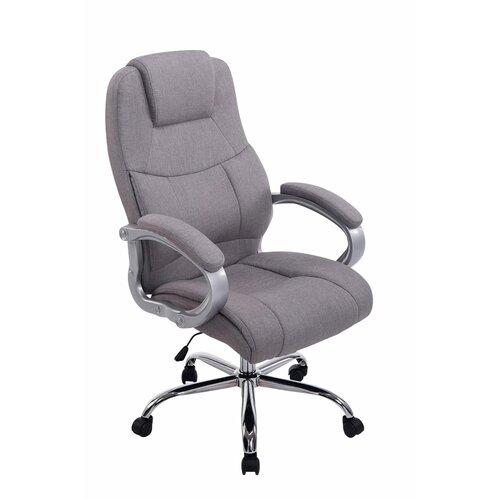 Chefsessel Brazell | Büro > Bürostühle und Sessel  > Chefsessel | Grau | Metall - Polyester | Marlow Home Co.