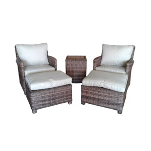 Dutil 5 Piece Conversation Set with Cushions