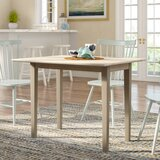 Wembley Extendable Solid Wood Dining Table by Beachcrest Home™