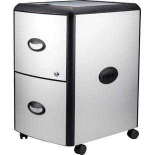 2-Drawer Mobile Vertical Filing Cabinet by Rebrilliant Wonderful