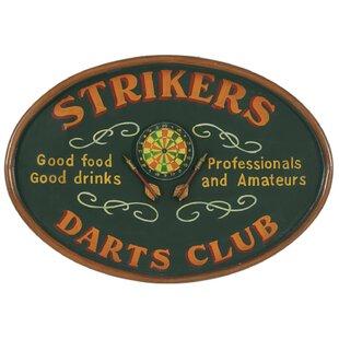 'Strikers Darts' Framed Vintage Advertisement ByWinston Porter