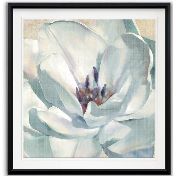 Charlton Home Iridescent Bloom Ii Framed Print Wayfair