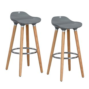 Wrigley 81cm Bar Stool (Set Of 2) By Mercury Row