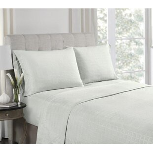 Anzilotti Embossed Microfiber Sheet Set