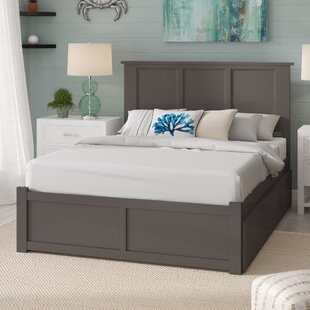 Espinoza Storage Platform Bed by Three Posts