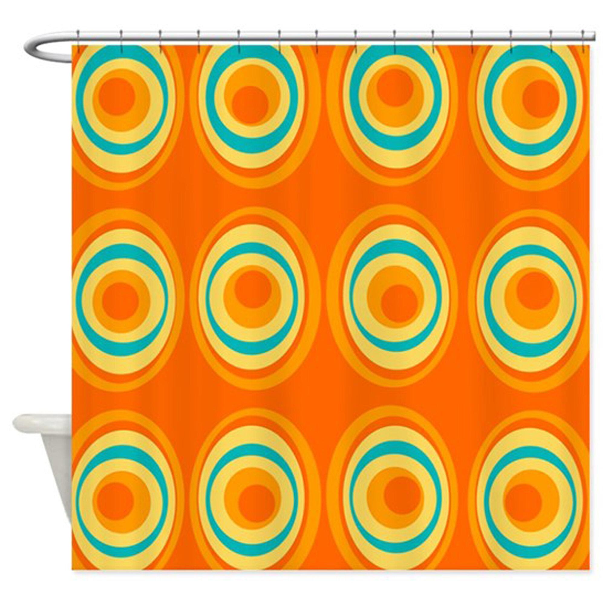 Corrigan Studio Oloran Geometric Single Shower Curtain Wayfair