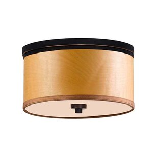 Brayden Studio Juhasz 3-Light Flush Mount
