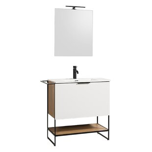 Rucker 800mm Free-standing Single Vanity Unit By Belfry Bathroom
