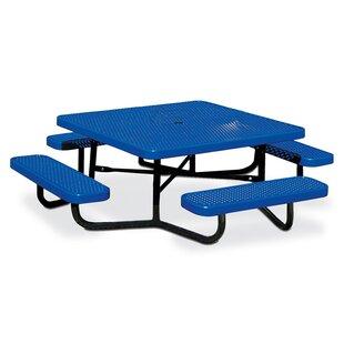 Reviews Children's Square Picnic Table ByAnova