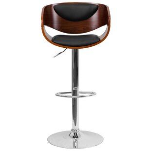 Samson Adjustable Height Swivel Bar Stool