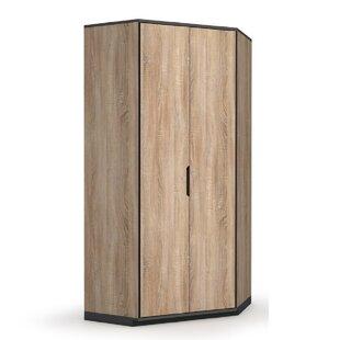Okabena 2 Door Corner Wardrobe By 17 Stories