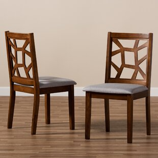 Read Reviews Eastwood Solid Wood Dining Chair (Set of 2) by Ebern Designs Reviews (2019) & Buyer's Guide