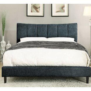 Lonoke Upholstered Platform Bed by Ebern Designs