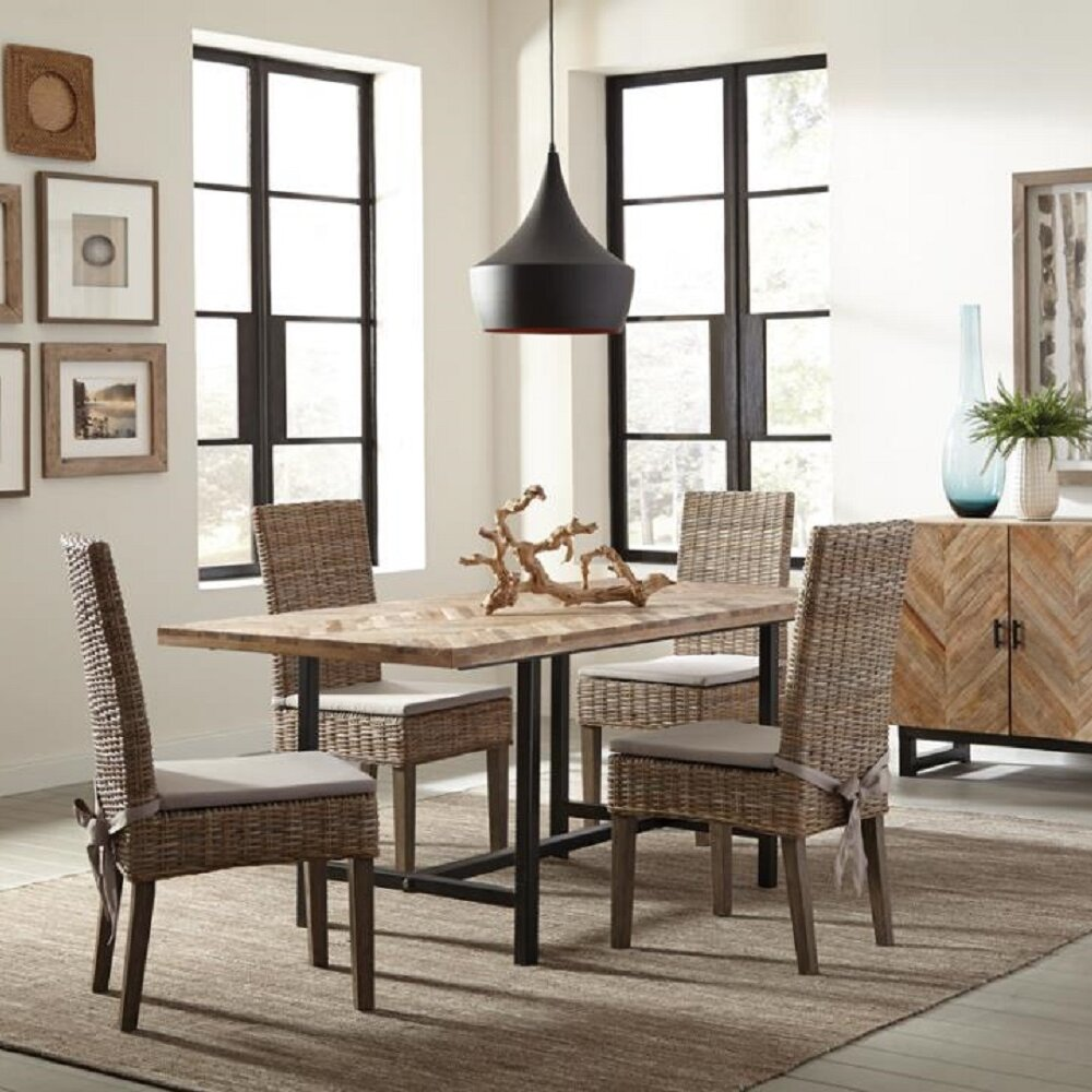 Foundry Select Hoffman 5 Piece Dining Set Wayfair