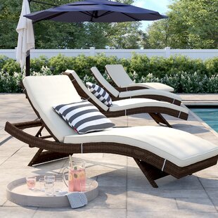 Brayden Chaise Lounge with Cushion