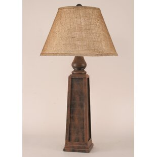 Rustic Living Pyramid Pot 33 Table Lamp